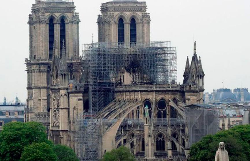 Отдельный закон для восстановления собора Парижской Богоматери примет правительство Франции