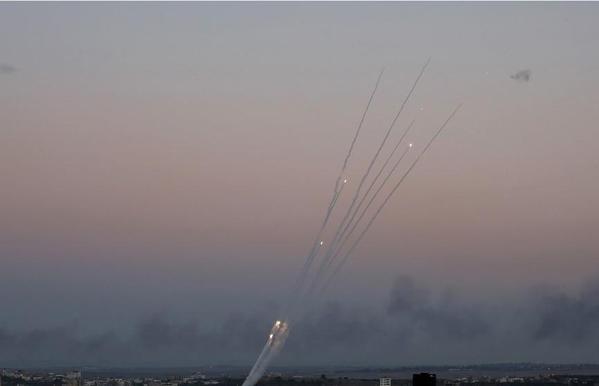 370 ракет запустили по Израилю из сектора Газа