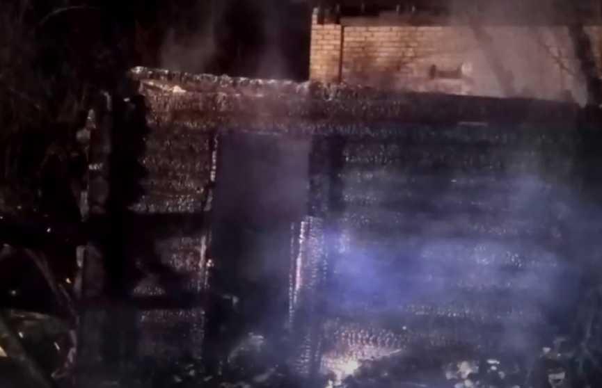 Сгорела баня: 66-летний владелец уже несколько лет использовал её как жилое помещение
