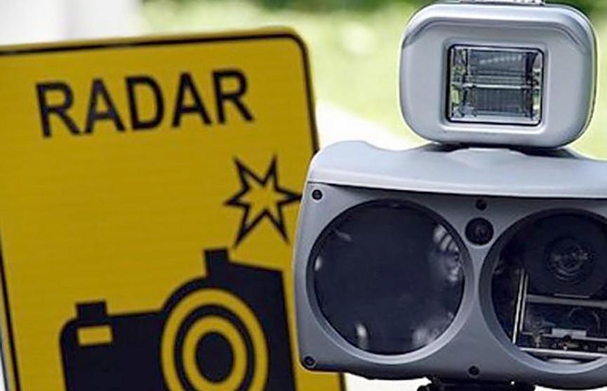 В ГАИ рассказали, где с 13 по 19 января установят датчики контроля скорости