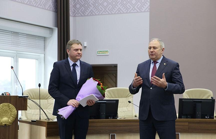Александра Червякова представили коллективу в качестве нового министра экономики