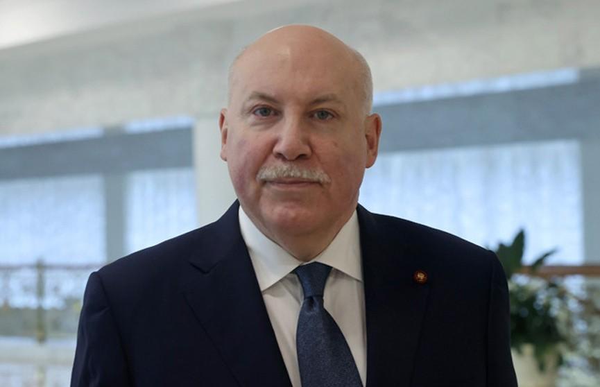 Дмитрий Мезенцев назначен на пост Госсекретаря Союзного государства
