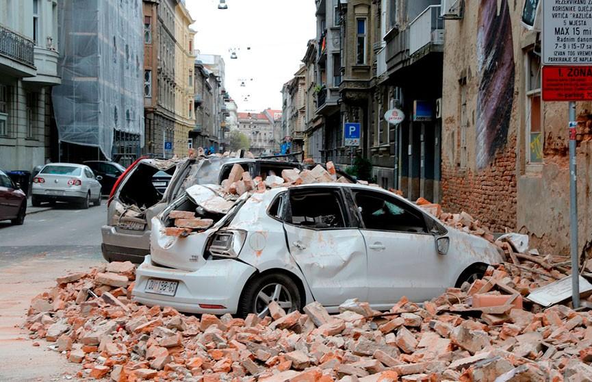 В Загребе за сутки произошло 57 землетрясений