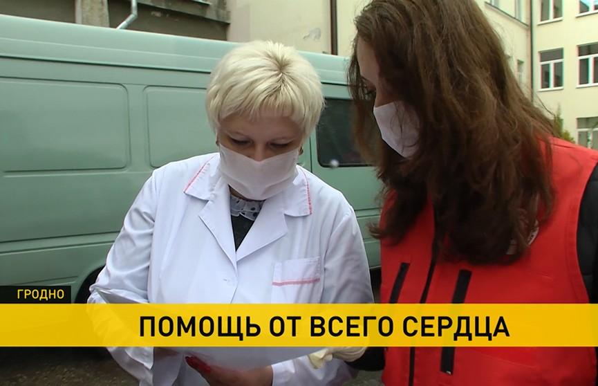 Коронавирус в Беларуси: депутаты, волонтеры и организации помогают медикам