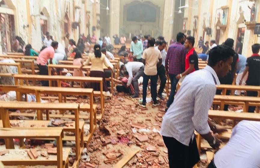 «Исламское государство» взяло на себя ответственность за теракты на Шри-Ланке