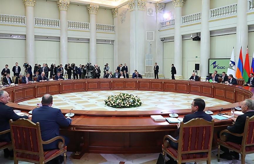 Беларусь будет председательствовать в ЕАЭС в 2020 году