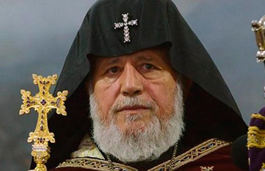 Александр Лукашенко поздравил Католикоса всех армян Гарегина Второго с днём рождения