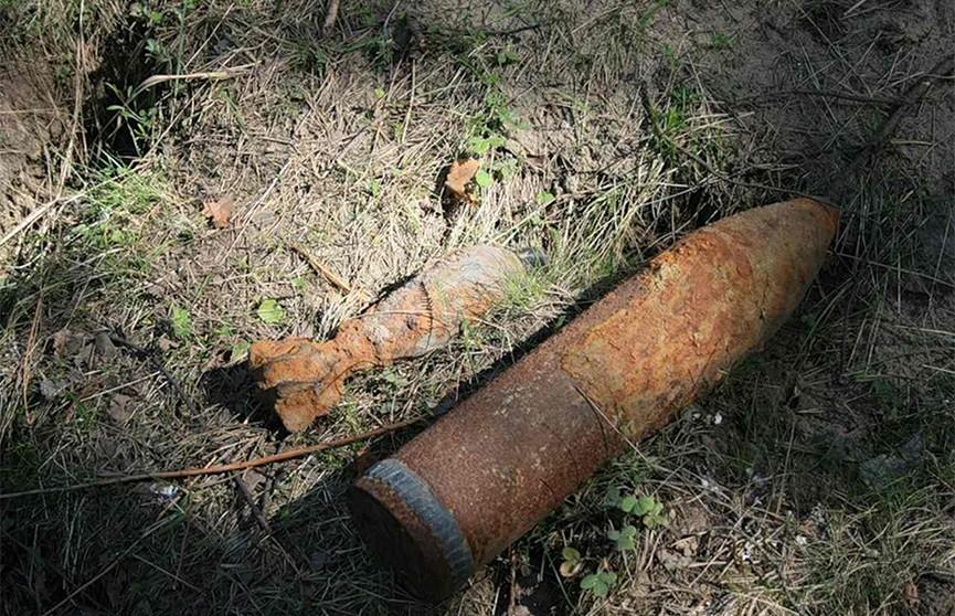 Снаряд времен Второй мировой войны нашли на торфянике в Барановичском районе