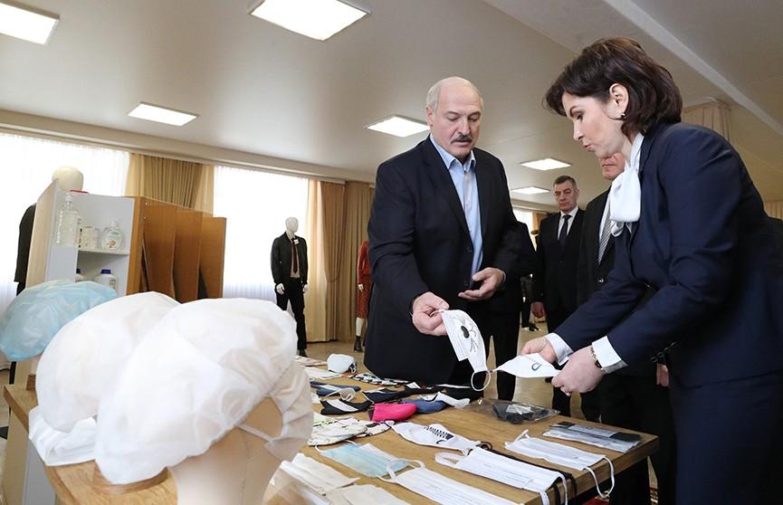 Лукашенко: Вакансий много. Надо поработать, может, и на какой-то нелюбимой работе