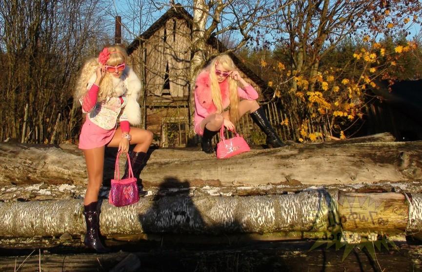Дорого-богато: смешные фото деревенских красавиц
