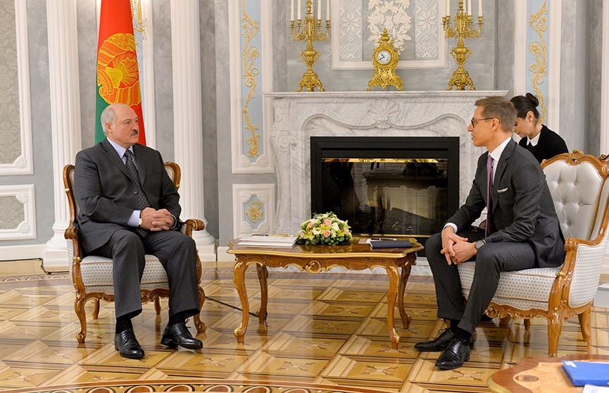 Александр Лукашенко встретился с вице-президентом Европейского инвестиционного банка Александром Стуббом