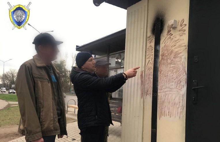 Задержан подозреваемый в поджоге «Табакерок» в Боровлянах
