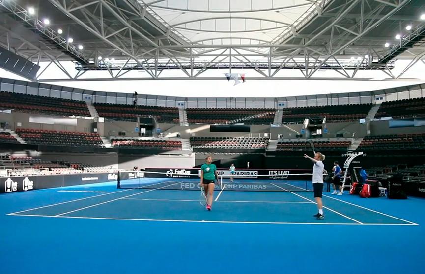 Белорусы сразятся со сборной Австралии по теннису в полуфинале Кубка федерации