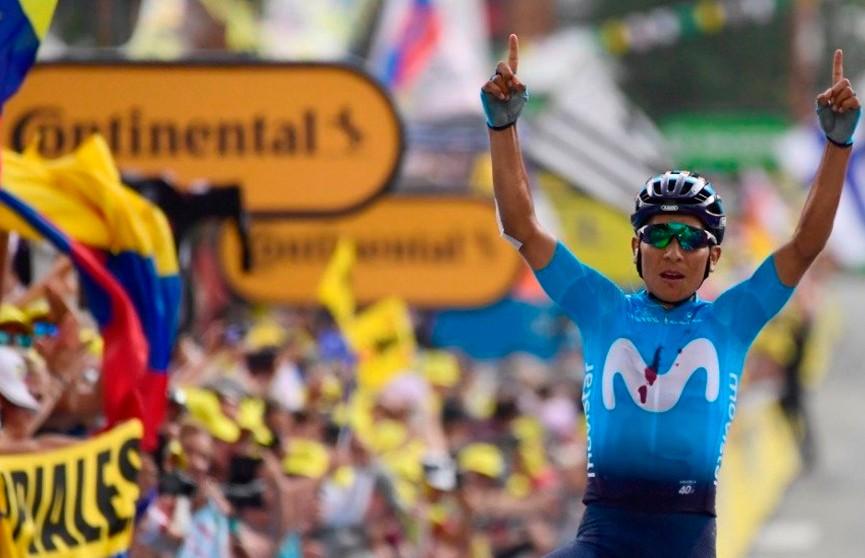 Колумбиец Наиро Кинтана выиграл 18-й этап велогонки «Тур де Франс»