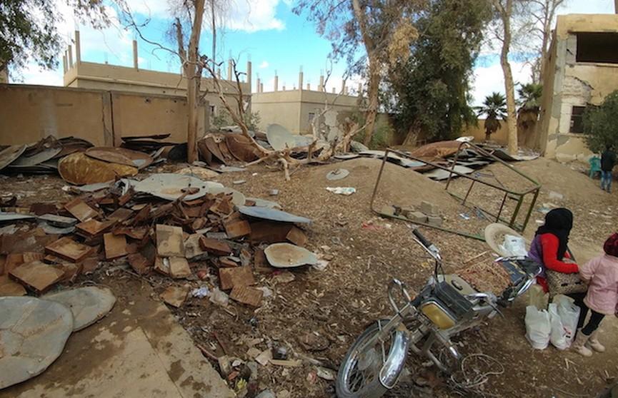 При авиаударах коалиции США в Сирии погибли более 60 мирных жителей