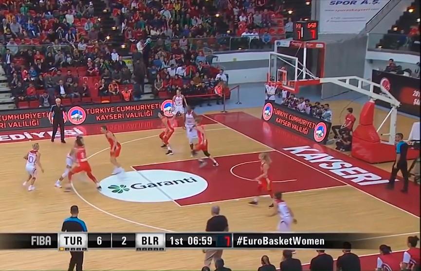 Белорусские баскетболистки сыграют против итальянок на товарищеских матчах