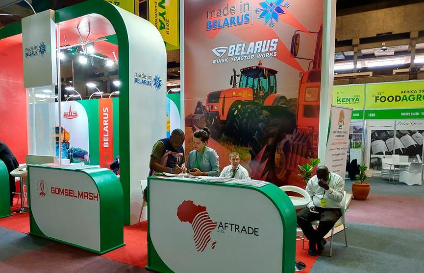 Национальная экспозиция Беларуси работает на выставке FoodAgro в Кении