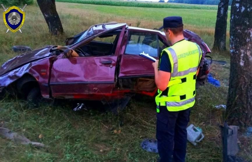 ДТП в Слуцком районе: погибли двое мужчин, третий выжил. Следователи выясняют, кто был за рулем