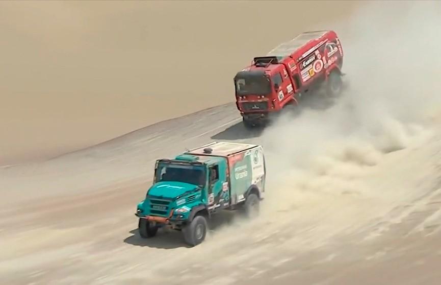 Белорусский МАЗ пришёл вторым на девятом этапе «Дакара-2019»