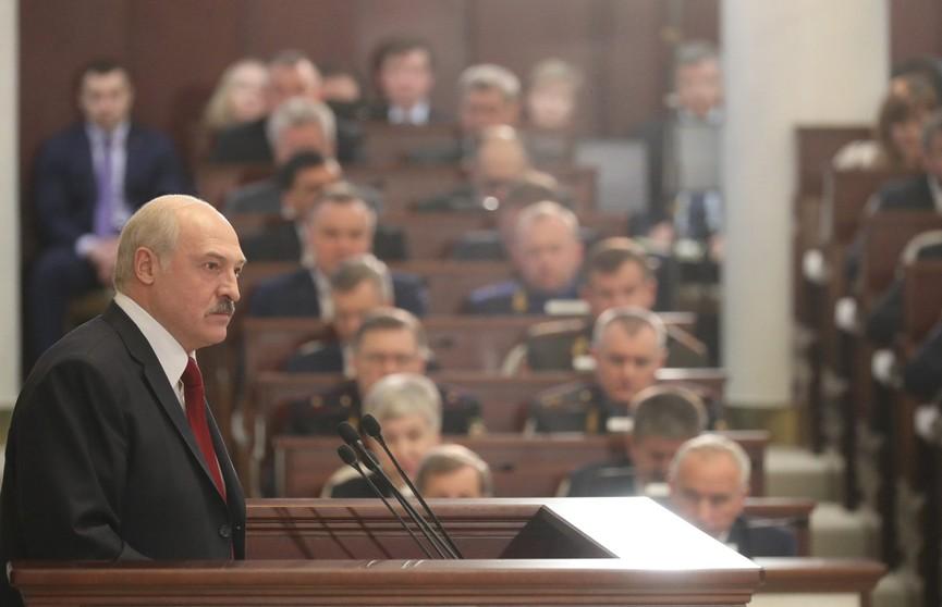 Лукашенко: В вопросах суверенитета и безопасности не было и нет места компромиссам