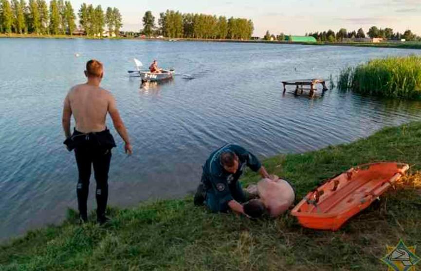 Пьяный мужчина чуть не утонул в Витебске