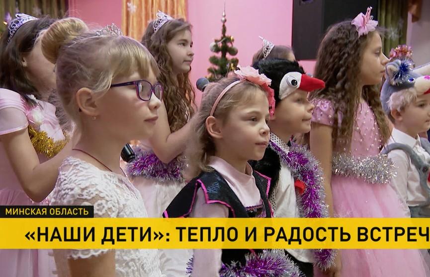 Глава МВД навестил воспитанников Радошковичского учебно-педагогического комплекса