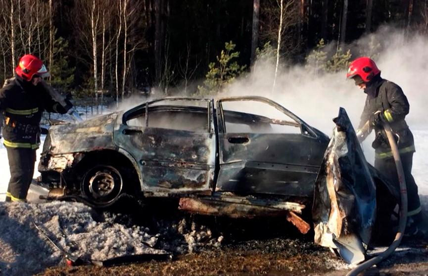 Жуткое лобовое столкновение на трассе Минск – Микашевичи: один водитель погиб, другой – госпитализирован