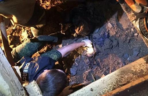 Пропавшего ребенка в России нашли замурованным в бетон