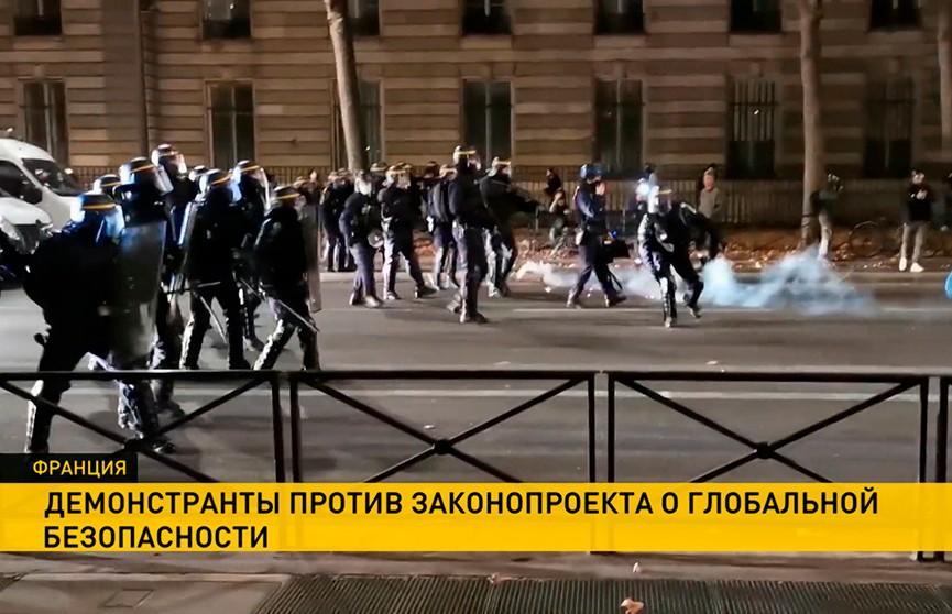 Массовые протесты продолжаются в Европе