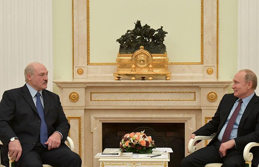 Александр Лукашенко и Владимир Путин встретятся ещё раз до Нового года