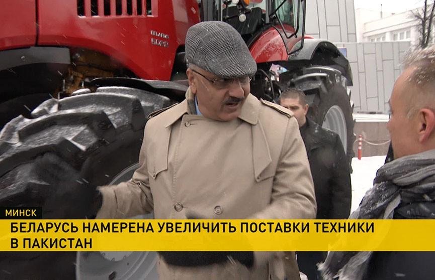 Аграрии Пакистана заинтересованы в белорусской технике