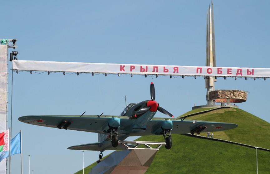Легендарный ИЛ-2 пополнил экспозицию боевой техники у Кургана Славы