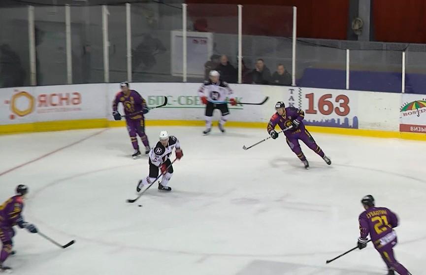 Стали известны команды-участники полуфинала чемпионата Беларуси по хоккею