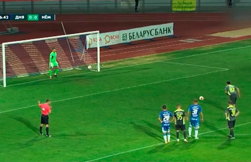 «Днепр» сыграл вничью с «Неманом» в 18-м туре чемпионата Беларуси по футболу