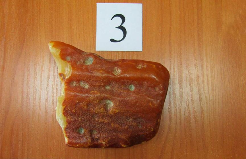 2 кг янтаря пытался незаконно вывезти россиянин из Беларуси в Литву