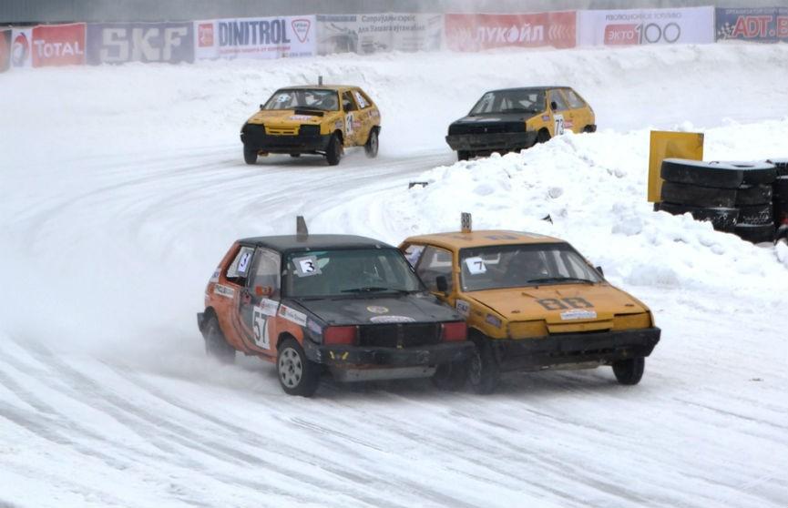Горячий лёд! Финальный этап чемпионата Беларуси по трековым гонкам в Боровой