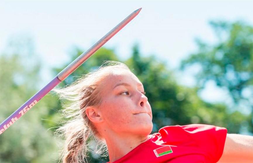 Александра Коньшина выиграла золото в метании копья на молодежном ЧЕ по легкой атлетике