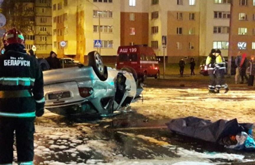 ДТП в Гомеле: водитель погиб, оказавшись зажатым внутри салона
