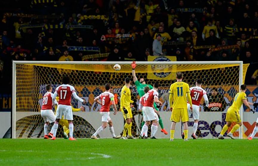 БАТЭ сенсационно обыграл «Арсенал» в Лиге Европы