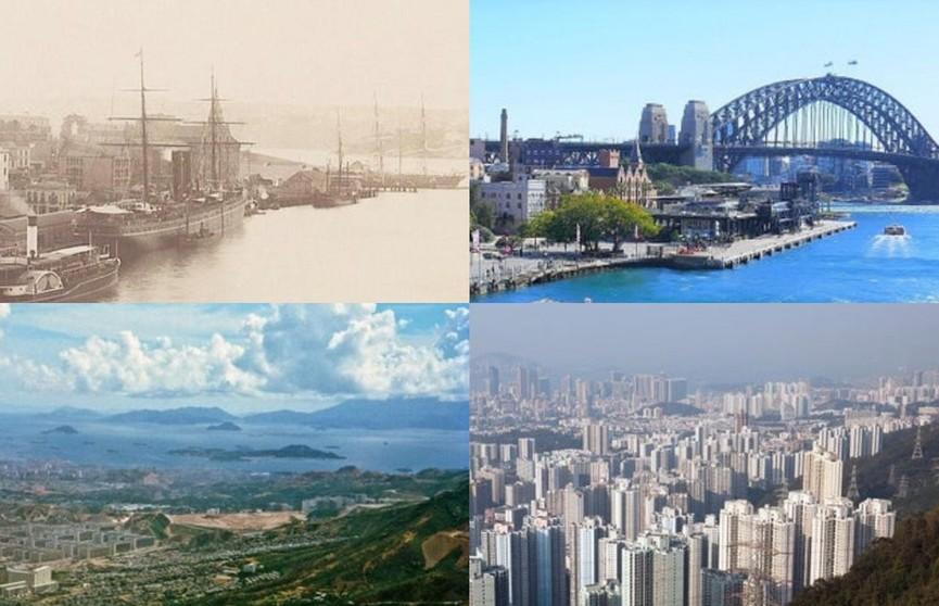 До и после: как сильно время изменило известные места. 10 удивительных фото!
