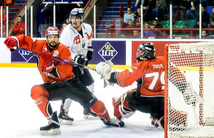 «Неман» завершил выступления в хоккейной Лиге чемпионов поражением от «Айсберена»