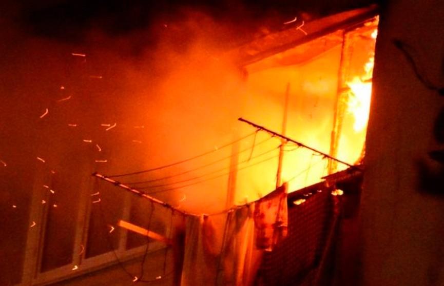 Пожар в витебской многоэтажке унёс жизнь пенсионерки
