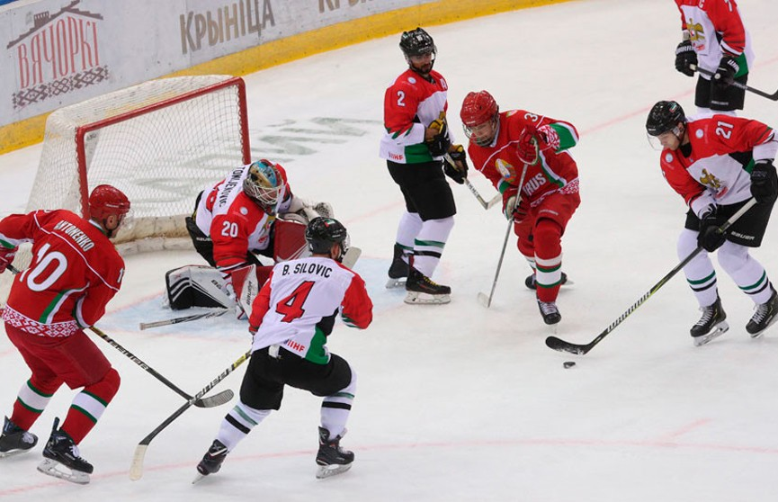 Команда Президента Беларуси вышла в финал Рождественского турнира