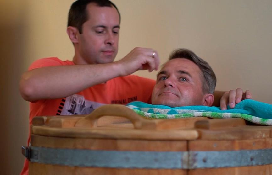 Ведущий программы «Метеогид» Дмитрий Рябов посетил санаторий «Ружанский»