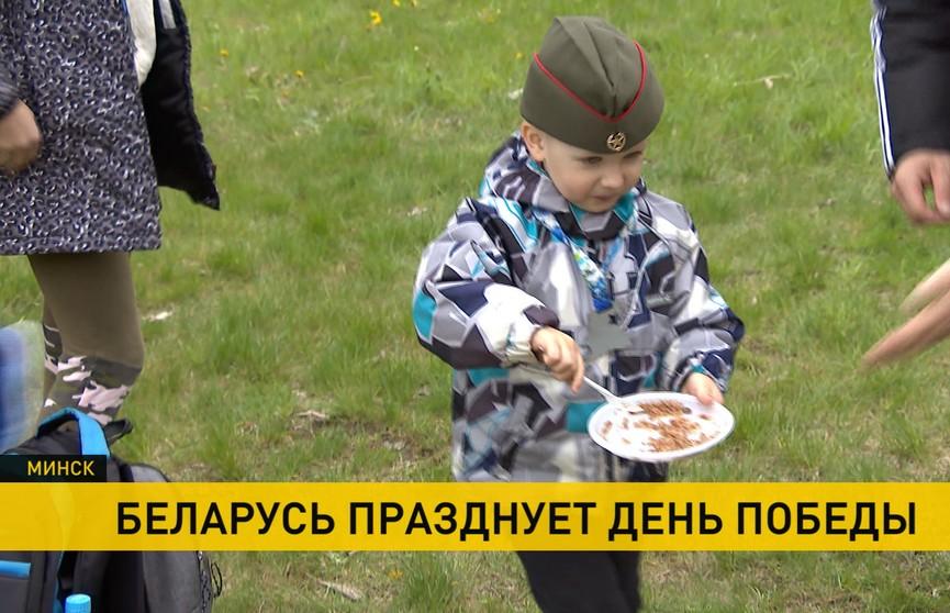 Самые яркие моменты народных гуляний в честь Дня Победы в Беларуси