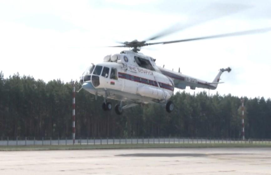 Энергетики на вертолёте МЧС проверят состояние столичных теплосетей