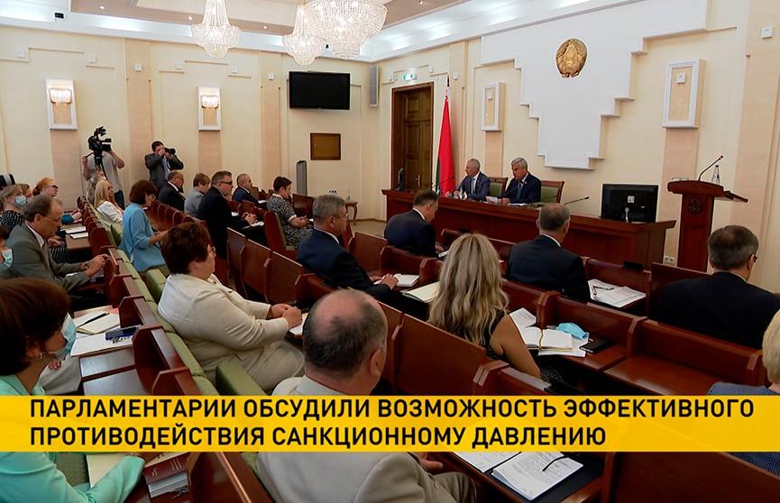 В Палате представителей обсудили противодействие санкционному давлению