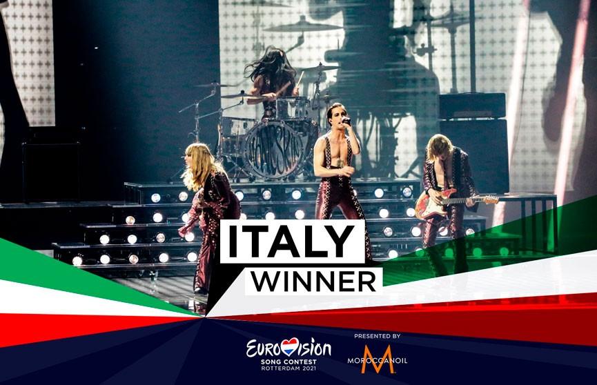 «Евровидение-2021» выиграла группа Mаneskin из Италии