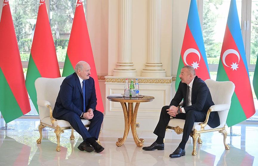 Экономическая кооперация по-новому. О чём договорились главы Беларуси и Азербайджана? Итоги встречи