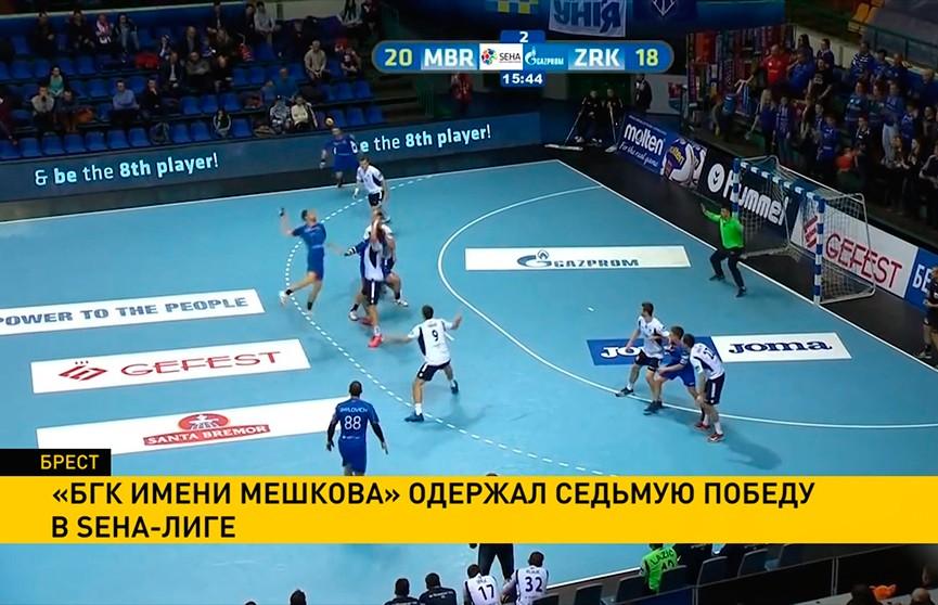 БГК им. Мешкова одержал седьмую победу в SEHA-лиге